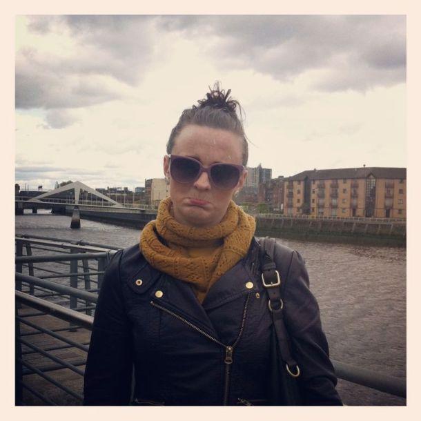 Its raining in Glasgow