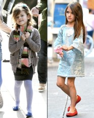 suri cruise/honor warren