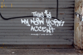 "Graffiti – ""Better Out Than In"" – NYC"